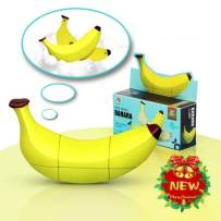 Banana Magic Speed Cube 2X3 Stickerless Birthday for Kid Adult Puzzle Toy Anti Stress for Anti-Anxiety Adults Kids Best High Speed Turns Quick and More Precisely Puzzle Game