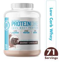 ProteinOne Whey Protein Powder by NutraOne – Non-GMO and Amino Acid Free Protein Powder (Gourmet Chocolate - 5 lbs.)