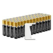 NANFU No Leakage Long Lasting AA 48 Batteries Pack, A Battery Tester Included, [Ultra Power] Premium LR6 Alkaline Battery 1.5v Non Rechargeable Batteries for Clocks Remotes Toys & Electronic Device