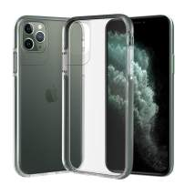 Ismabo Case Compatible with iPhone 11 Pro, [Military Grade 10 Feet Drop Tested] Ultra Clear Case Cover for iPhone 11 Pro, [TPU, Elasticity Non-Newtonian Fluid TPE and Polycarbonate] - Midnight Green