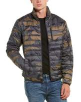 Hawke & Co Men's All-Season Ultra Lightweight Packable Down Jacket, Water and Wind-Resistant Breathable Coat, 'The Empire'