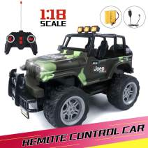Remote Control Car, Fast RC Cars for Kids with 700mAh Rechargeable Battery, Boy Toys Age 6, Car Toys for Toddlers, Birthday Gifts for Age 3 4 5 6 7 8 9 10 Year Old Boys Toys