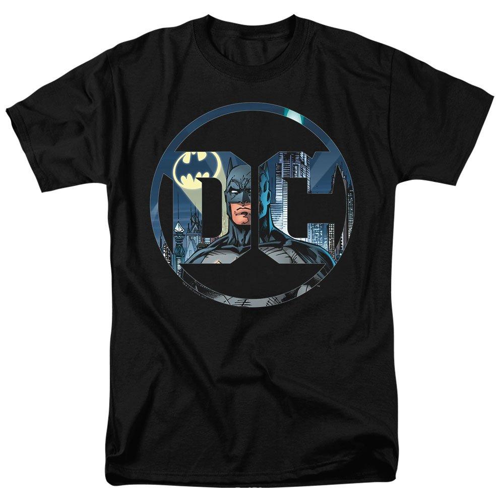 Batman DC Comics Logo T Shirt & Stickers