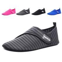 SITAILE Barefoot Quick-Dry Water Skin Shoes Aqua Socks Adjustable for Sports Beach Swim Pool Surf Yoga for Women Men