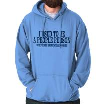 Used to be a People Person Antisocial Nerd Hoodie