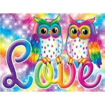 Huacan Diamond Painting Kits Owls Love DIY 5D Crystal Rhinestone Embroidery Pictures Arts for Adults Craft 30x40cm 11.81x15.75in Full Square Drill