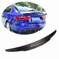 MCARCAR KIT Trunk Spoiler fits Jaguar XE Sedan 2015-2018 Real Carbon Fiber Car Styling Rear Boot Wing Spoiler