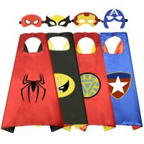 Party Favors Toys for 3-10 Year Old Boys, Fun Cartoon Capes for Kids Birthday Gifts Presents for 3-10 Year Old Boys Toys Age 3-10 RKUSPF004