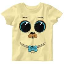 Kerusso Kids Puppy Dog Eyes T-Shirt -Butter-