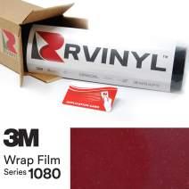 3M 1080 GP253 Gloss Cinder Spark RED 5ft x 1ft W/Application Card Vinyl Vehicle Car Wrap Film Sheet Roll