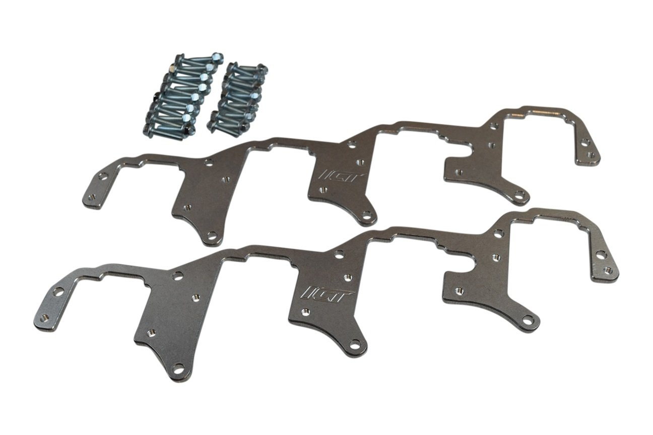 ICT Billet LS Billet Coil Brackets Holley AMP EFI Smart Coil Pack (LSA LS9 Valve Cover ONLY) 551920