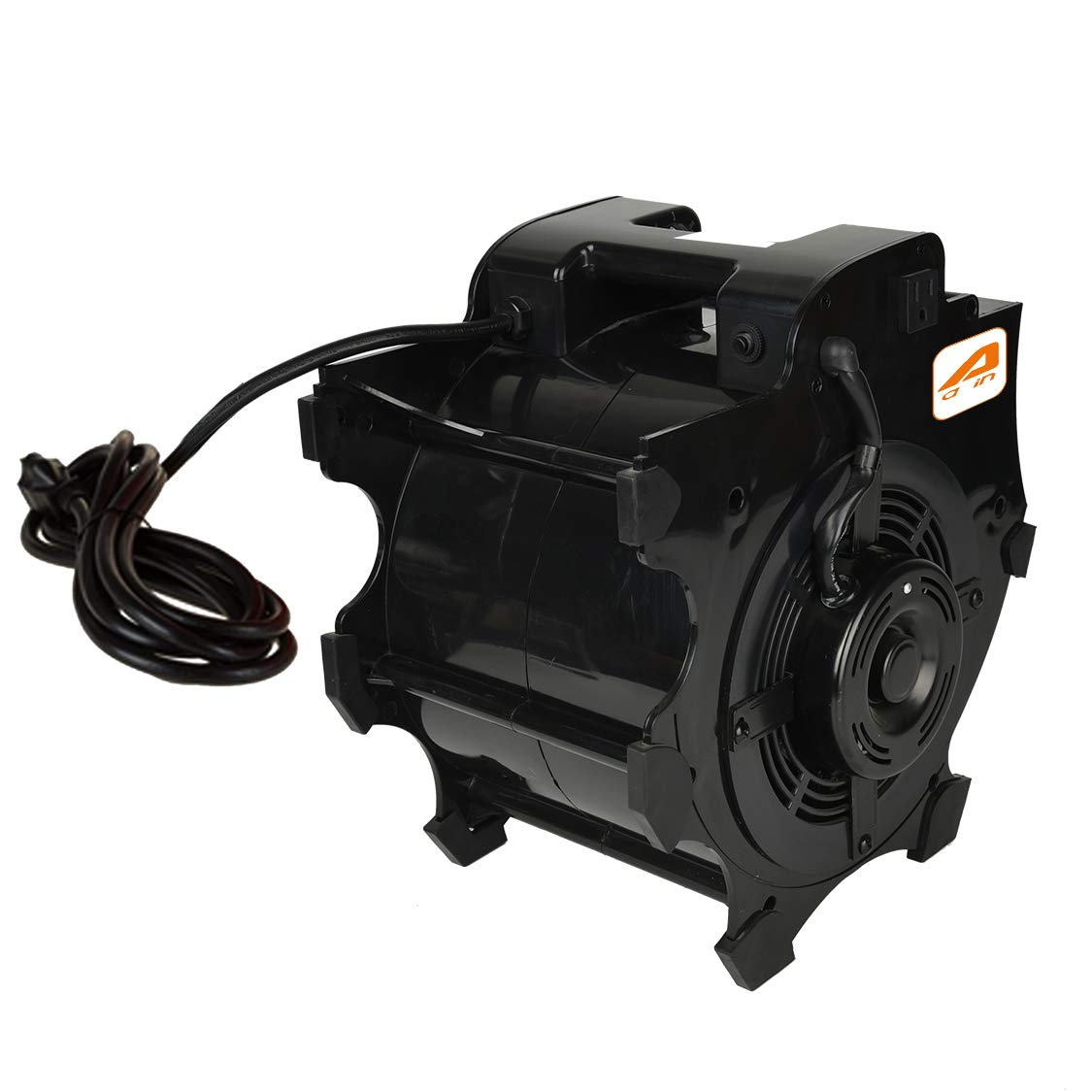 AAIN LT014 High Velocity Blower Fan,Industrial Air Mover,Utility ElectrIc Carpet Dryer Ideal for Wet Carpets, Floors,Walls & Ceilings- 3-speed,300 CFM,1/4 HP
