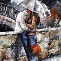 Adarl DIY Oil Painting Paint by Number Kit Image Drawing On Canvas by Hand Coloring Arts Crafts & Sewing New Lovers