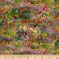 Elizabeth's Studio Wildflower Trails Flowers, Multicolor
