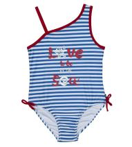 Nautica Girls' One Piece Swimsuit