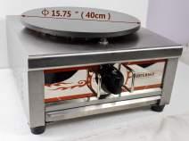 Intbuying Natural Gas Single Crepe Maker and Pancake Machine #134031