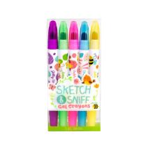 Scentco Spring Sketch & Sniff Scented Gel Crayons 5-Pack