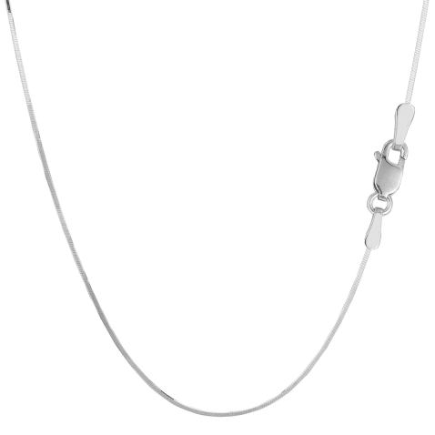 Sterling Silver Bead Ball 2.2mm Chain with Lobster Clasp.