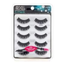 Ardell False Eyelashes Natural 101 Black, 1 pack (5 pairs per pack)