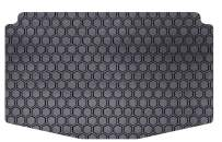 Intro-Tech TO-738-RT-B Hexomat Cargo Area Custom Fit Floor Mat for Select Toyota 4Runner Models w/o 3rd Row Option; w/Sliding Cargo Tray - Rubber-like Compound, Medium,