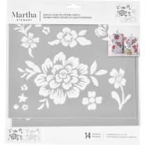 Martha Stewart 17630 Laser-Cut Layering Floral Stencil