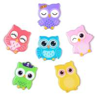 6-Pack Fridge Magnets for Kids Adults Refrigerator Magnets Cute Owl Ornament Funny Decor for Kitchen Office Classroom Whiteboard Lockers, Magnet Set Ideal Gift by Morcart (6pcs-Owl)