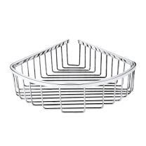 TENOVEL SB1003PC Corner Shower Shelf Wall Caddy,Stainless Steel Corner Shower Caddy,Bathroom Wall Mounted Basket,Polished Finish