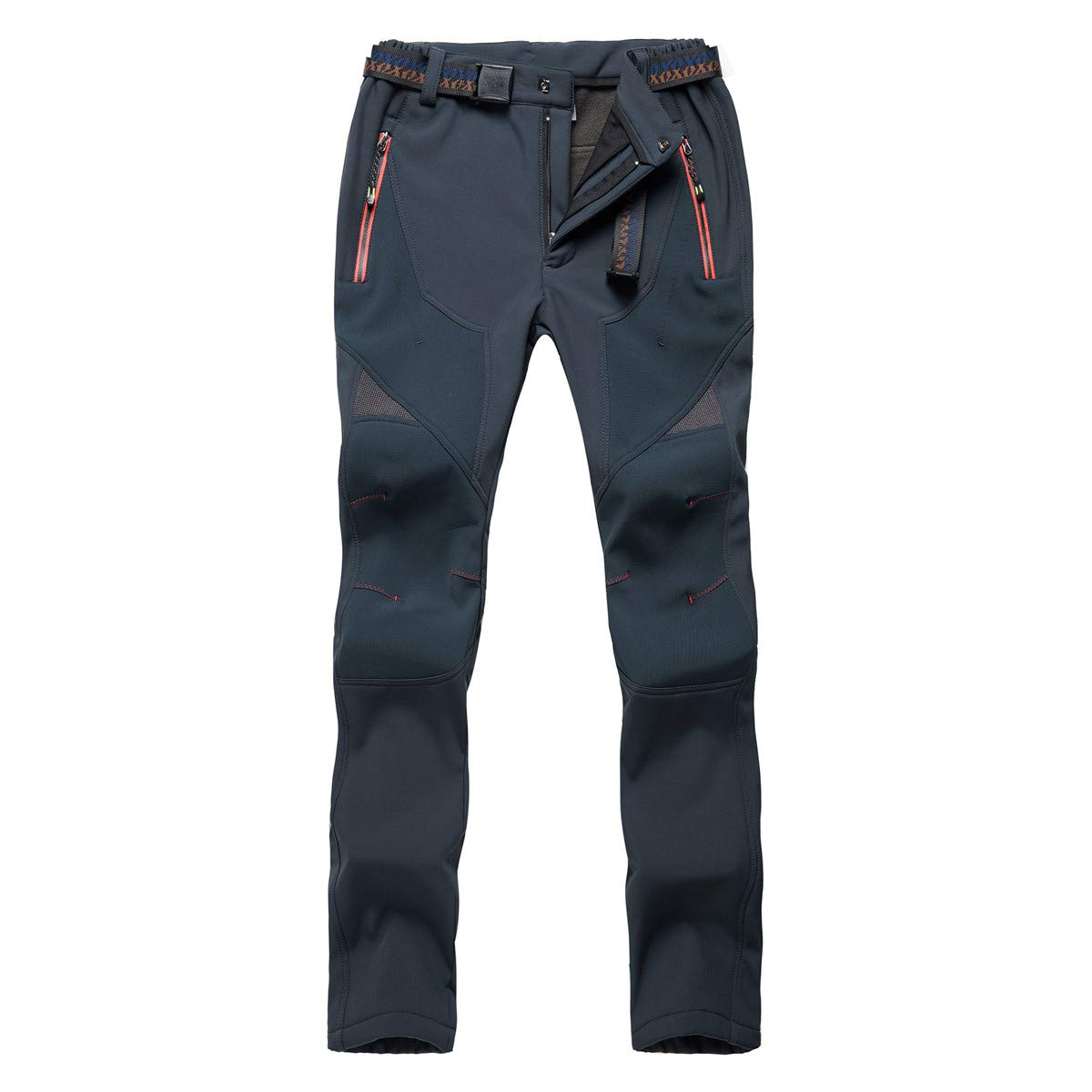 Aygience Women's Hiking Pants with Fleece Lined Snow Skiing Shell Pants Wind-Resistant Insulated Pants