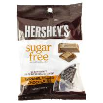 Sugar Free Chocolate, Hershey's Sugar-Free Caramel Filled Chocolates, 3 Ounces.