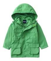 Hiheart Boys Girls Hooded Lightweight Jacket Kids Outerwear Windbreaker