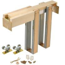 Johnson Hardware 1500 Series Commercial Grade Pocket Door Frame for 2x4 Stud Wall (24 Inch x 84 Inch)