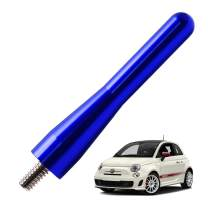 JAPower Replacement Antenna Compatible with Fiat Abarth 2012-2018 | 3 inches-Blue