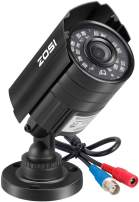 ZOSI 1080P HD-TVI Security Camera for Home Office Surveillance CCTV System - Bullet BNC Camera with Night Vision Black (Renewed)