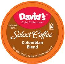 David's Café Collection, Colombian, Single Serve Cup 100Count (Compatible With 2.0 Brewers)