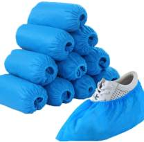 INMAKER Shoe Covers Disposable Non Slip, 200 Pack (100 Pairs) Non Woven Fabric Boot Covers for Indoors