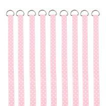 QtGirl Baby Girls Hair Bow Holders 9 Pcs 3-Feet Long Bow Hanger Hair Clip Storage Organizer