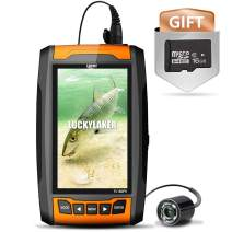 LUCKY Infrared Portable Underwater Fish Camera Fish Finder Underwater Camera Fishing Camera ice Fishing Kayak Boat Fishing high Resolution