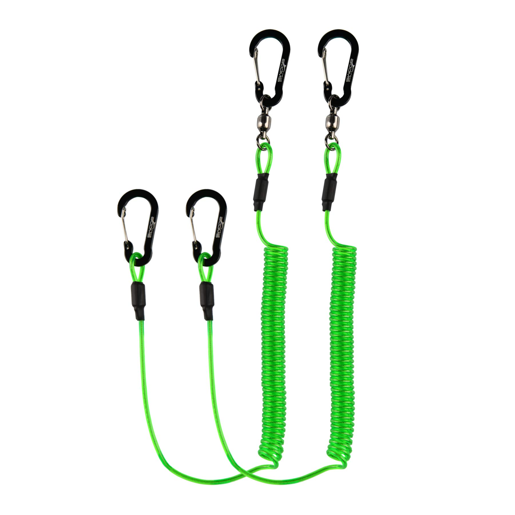 Booms Fishing T02 Heavy Duty Fishing Lanyard for Fishing Tools/Rods/Paddles
