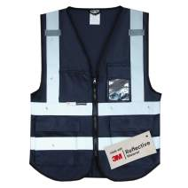 Salzmann 3M Multi-Pocket Working Vest | High Visibility Reflective Vest | Made with 3M Reflective Material