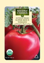Seeds of Change 01613  Certified Organic Super Sioux Tomato