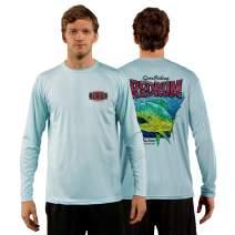 Red Tuna - Redrum Performance Quick Dry Long Sleeve Fishing Shirt for UV UPF 50+