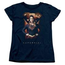 Supergirl TV Series Standing Proud Womens T Shirt & Stickers