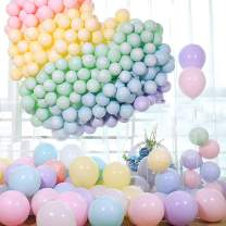 """100pcs 10"""" Party Decoration Pastel Color Balloons Macaron Candy Colored Latex Balloons for Birthday Wedding Engagement Anniversary Christmas Festival-Macaron Multi Color"""