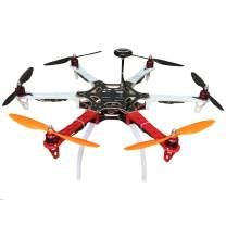 Hobbypower DIY F550 Hexacopter Frame Kit with Pixhawk Fight Controller+7M GPS +Simonk 30A ESC + 2212 920KV Motor