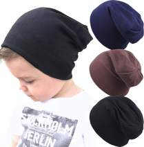 Whteian Baby Hat Baby Boy's Infant Beanie Hats Cotton Skull Caps for Toddlers Kids 0-5T