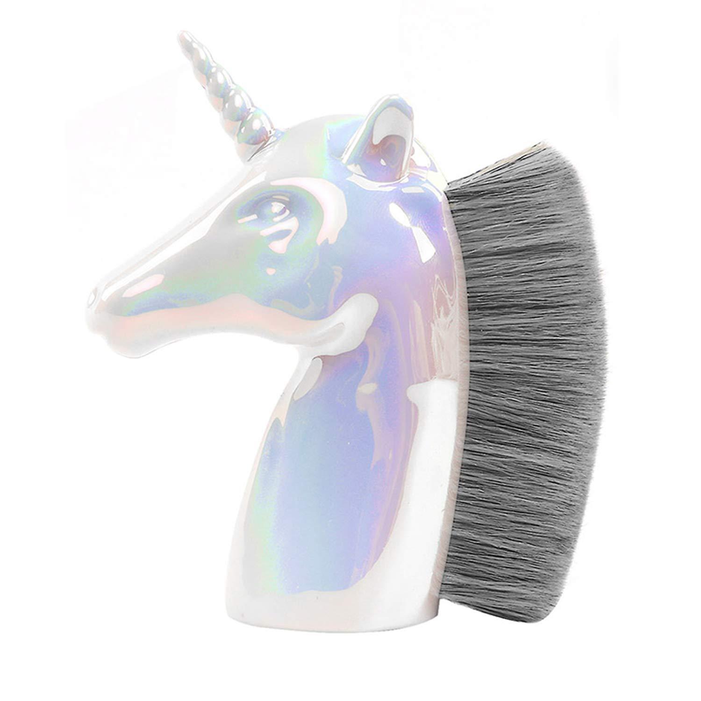 ENERGY Unicorn Foundation Brush Kabuki Brush Makeup Brush for Face, Concealer, Cream, and Powder Brush Contour Brush Large Blush Brush unique christmas gifts for girls