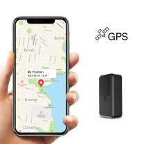 GPS Tracker,Kimfly Mini GPS Locator Personal Portable Real Time Tracker for Kids Pet Vehicle and Car