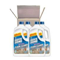 Quick Shine Multi-Surface Floor Cleaner, 64 Fl. Oz, 4 Pack, 4 Count
