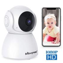 IP Camera Wireless Indoor 1080P, Mbuynow Surveillance Camera Wireless with Motion Alert,Night Vision, 2-Way Audio for Baby Monitor, Home Security with iOS, Android App -Cloud-Storage Available