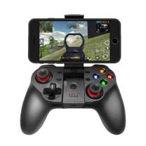 TECGAMER Mobile Game Controller, Wireless Bluetooth Gamepad Joystick Multimedia Game Controller Compatible with Android Windows PC, Perfect for The Most Games-NO Supporting iOS 13.4 or Above